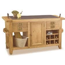oak kitchen island with granite top solid oak kitchen island granite top