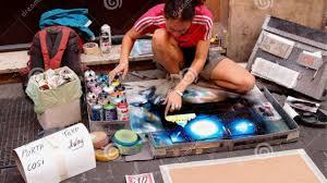 Spray Paint Artist - beale street spray paint artist spray painting kitchen cabinets