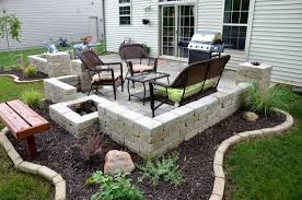 Ideas For Paver Patios Design Patio Ideas With Pavers At Backyard Of Chalet Shoplvhome