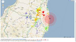 Fukushima Fallout Map by Where Is Fukushima Japan 19 Cad To Usd