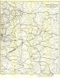 Map Of Ucla Danube Swabian Genealogy Austria Hungary Maps U0026 Atlases