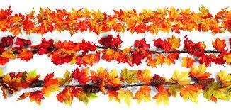 fall garland fall garland with lights fall felt garland leaf leaf garland felt