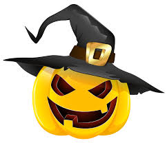 pumpkin images free download halloween evil pumpkin with witch hat clipart gallery