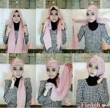 tutorial hijab turban untuk santai dinatokio turban turban pinterest turban head wraps and hijabs