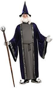 amazon com forum novelties unisex wizard costume dark blue purple