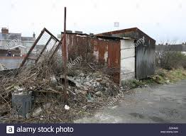 a shanty town style dwelling in llanelli wales the shed is