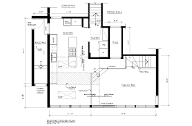 kitchen family room floor plans inspirations trends nice addition
