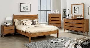 5pc bedroom set lennart cm7386a 5pc bedroom set in oak w options