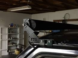 light bar jeep jeep grand cherokee zj 1993 1998 how to mount and wire led light