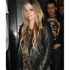 leather biker jackets for sale black motorcycle avril lavigne leather jacket