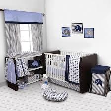 amazon com elephants blue grey mini elephants crib fitted sheet baby