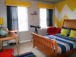 Bedroom With Yellow Accent Wall The Better Appearance Through Kids Trends Also Toddler Bedroom