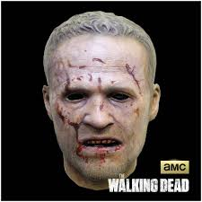 halloween skin mask the walking dead merle walker mask mad about horror