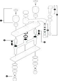 delta kitchen faucet repair parts delta kitchen faucet parts and kitchen sink drain diagram delta