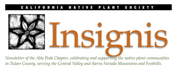 california native plant society blog newsletters u2013 alta peak chapter california native plant society