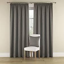 Lined Grey Curtains Ready Made Curtains Debenhams