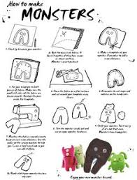 ugly doll worksheet ugly dolls pinterest ugly dolls