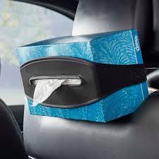 Tissue Holder Stretch Neoprene Tissue Box Holder For Car Headrests