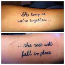 26 matching ideas for couples matching tattoos