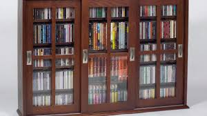 Multimedia Cabinet With Glass Doors Living Room Leslie Dame Media Cabinet Glass Door Multimedia Inside