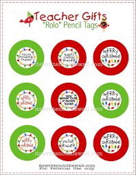 free halloween gift tags freebie teacher christmas gift rolo pencils w tags pinnutty com