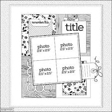 610 best single lo 4 photos scrapbook sketches images on