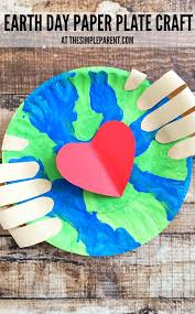 make an earth day craft preschoolers will love together to celebrate