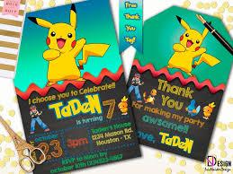 the 25 best pokemon party invitations ideas on pinterest