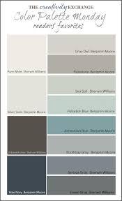 room color palette readers favorite paint colors color palette monday house