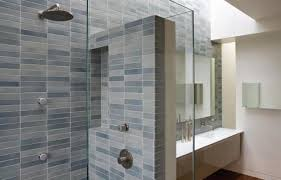 glass bathroom tile ideas extraordinary ceramic tile bathroom with glass wall partition