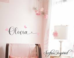 Personalized Names Wall Decals Personalized Names Nursery Wall By Surfaceinspired