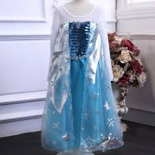 frozen dress for halloween party frozen princess elsa dress costume wholesale buy frozen