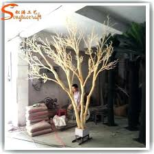 artificial tree home decor wholesale without leaves for buy
