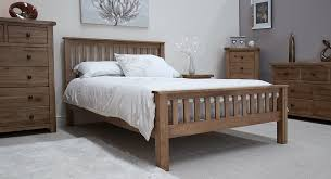 tilson solid rustic oak bedroom furniture 5 u0027 king size bed ebay