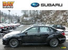 subaru wrx all black 2013 obsidian black pearl subaru impreza wrx limited 4 door