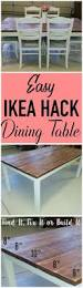 dining room table ikea best 25 ikea dining table ideas on pinterest ikea dining room