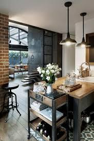 cuisine industrielle loft meilleur mobilier et décoration superbe loft industriel