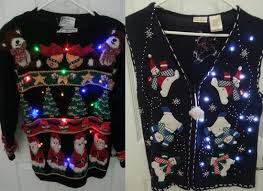 12 tacky lighted sweater vest patterns