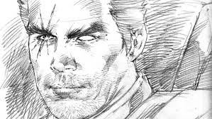 cable creator rob liefeld sketches josh brolin as the character