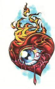 31 best fire heart tattoo with meaning images on pinterest heart