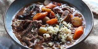 best slow cooker short rib stew and wild rice recipe how to make