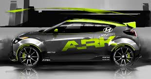 hyundai veloster turbo upgrade ark hyundai veloster turbo to appear at sema