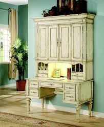 White Desk With Hutch by Hooker Light Wood Desk With Hutch