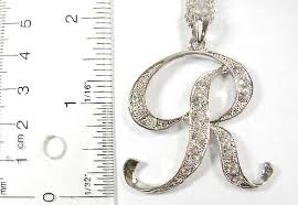 initial necklace jewelry supplier wholesale silver plated necklace