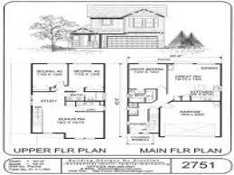 bi level floor plans two story split level house plans