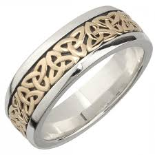 celtic rings wedding images Mens celtic wedding bands tungsten celtic love knot ring mens jpg