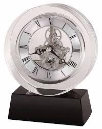 howard miller fusion 645 758 crystal desk clock