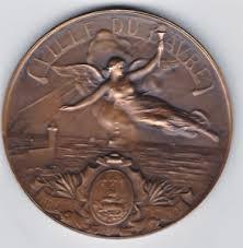 chambre de commerce du havre medaille ville du havre offert par la chambre de commerce du havre