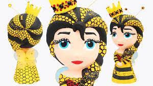 frozen elsa honey bee queen princess bee hive dress paint your own