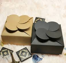 where can i buy boxes for gifts 7 8 7 8 3 5cm clovers design kraft paper box gift handmade